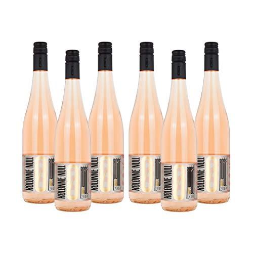 Kolonne Null - Rosé Still 2019 (6 x 0,75 L) - Alkoholfreier Wein