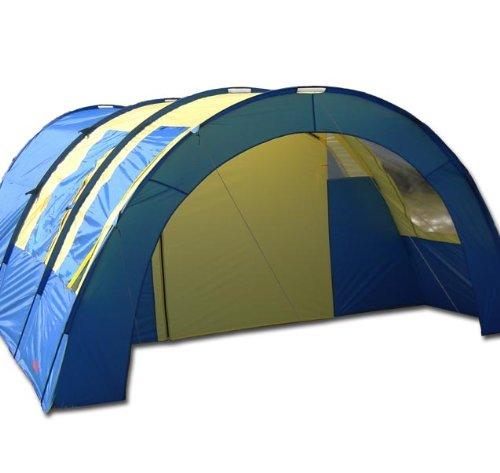 MAXI 4 Personen Camping Automatik Schnellaufbau Zelt Modell ELECSA 3166