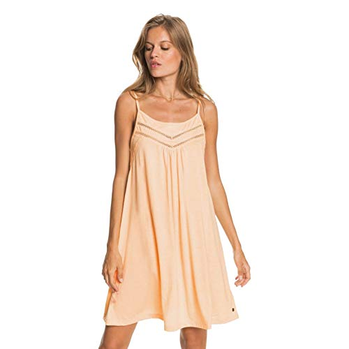 Roxy Vestido con Tirantes para Mujer Informal, Apricot Ice, S
