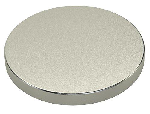 Ricoo Neodym Magnet 90x10mm N45 silber Neodymium Permanentmagnet Dauermagnet Supermagnet NdFeB Magnetwand Magnettafel Therapie Magnetspiele