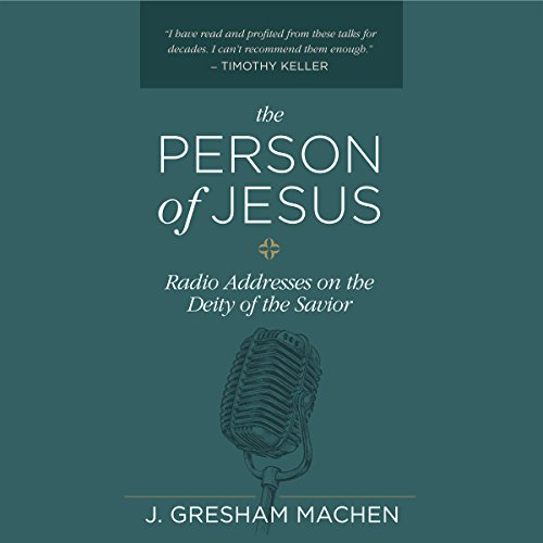 The Person of Jesus audiobook cover art