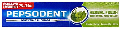 Set 24 PEPSODENT Dentifricio Marchio Fresh 100 ml Prodotti Per il Viso