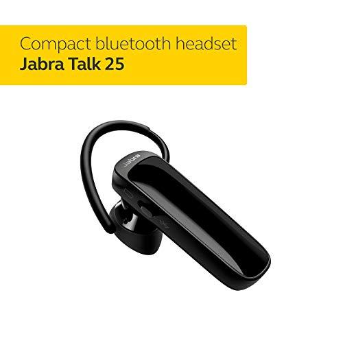 Jabra Talk 15 - Auriculares (Inalámbrico, gancho de oreja, Dentro de oído, Monoaural, Intraaural, 300 - 7000 Hz, Negro, Plata)