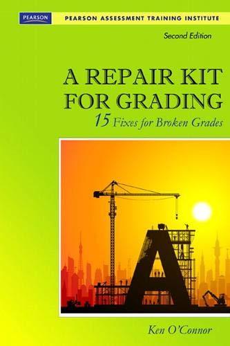 REPAIR KIT FOR GRADING 248863 (Assessment Training Institute, Inc.)