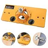 BI-DTOOL 35mm Hinge Jig, Hinge Drilling Jig Hole Guide Woodworking Tools for Kitchen Cabinet Doors Hinge