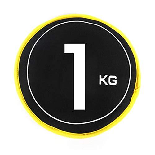 pegtopone - Disco de arena rellenable, saco de arena de entrenamiento, dispositivos de entrenamiento para el gimnasio en casa