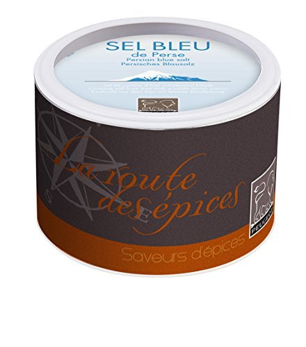Peugeot 34115 Persian Blue Salt Canister 6.3 Ounce/ 180g