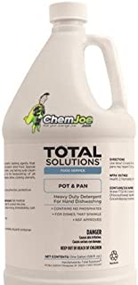 Heavy-Duty Detergent Pot & Pan Powerful Cleaning Agents That Quickly Penetrate, Soften and Remove Heavy Grease and Stubborn Dried-on Food. 30 Gallon Drum