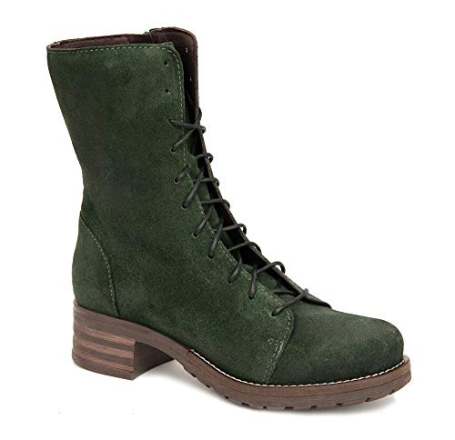 Brako Stiefel Boots 8470 Tina Pino grün waldgrün Nubuk (38 EU)
