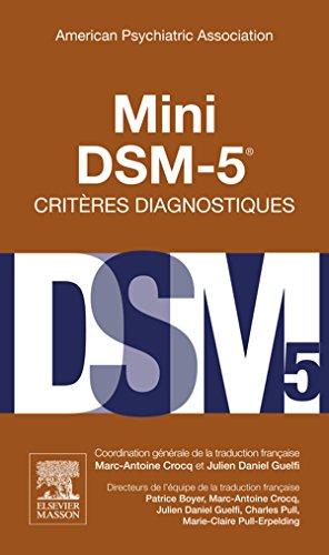 Mini DSM-5 Critères Diagnostiques (Hors collection)