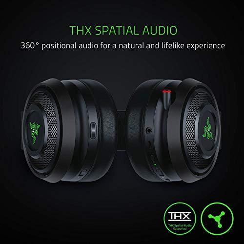 Razer Nari Ultimate Wireless 7.1 Surround Sound Gaming Headset: THX Audio