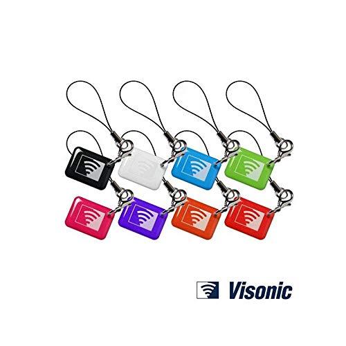 Visonic Prox - Etichette di prossimità, confezione da 8 pezzi, motivo: pulcini multicolore