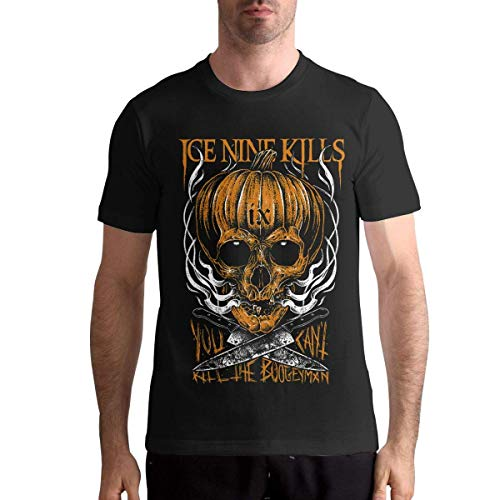 Herren Kurzarm Ice Nine Kills Shirt Men T-Shirt Casual Classic Short Sleeve Tops