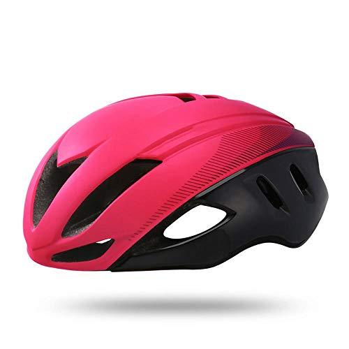 SFBBBO Casque Velo Adulte Speed Aero Bike Helmet Aerodynamics Triathlon Cycling Helmet Bike Helmet Road Time Trial Bicycle Helmet Bicycle L58-62 cololr2