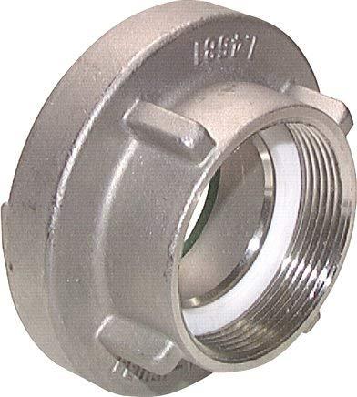 """Storz-Kupplung G 1-1/2\""""(IG), 52-C, Aluminium (geschmiedet) Werkstoff:Aluminium (geschmiedet)"""