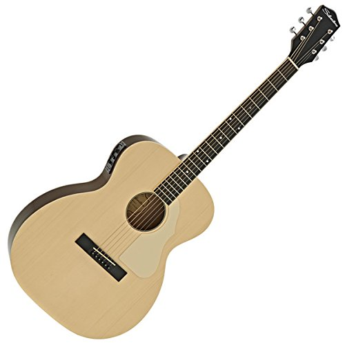 Silvertone 600E Elektro Akustikgitarre Natural