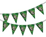 party-decor Darts - Board - Bunting Banner 15 flags - for Competition Celebration decoration