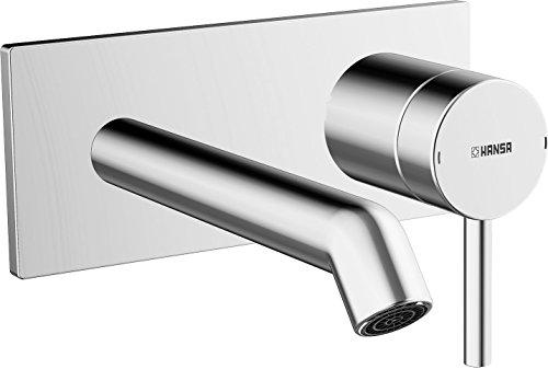 Hansa Fertigmontageset HANSADESIGNO 51092173 für Einhebel-Waschtisch-Wandbatterie, Ausladung 200mm, verchromt