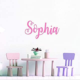 wall stickers for bedrooms for girls, Custom Name Wall Sticker, Personalised Wall Decal, Customised Bedroom Wall Stickers, Toy Box Name Stickers, Nursery Wall Art Decor, Kid's Room Decal