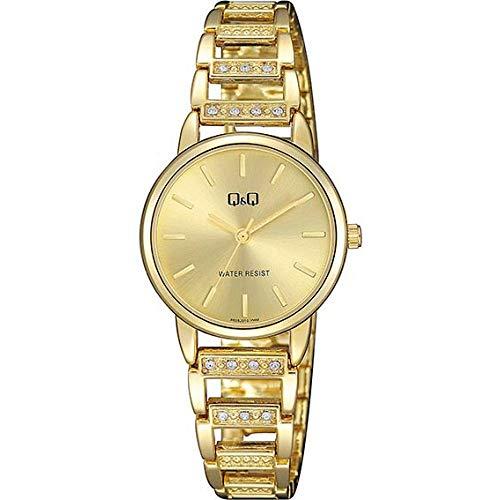 Q&Q Reloj de mujer moda F635J010Y estándar analógico movimiento de cuarzo japonés