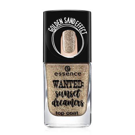 Essence Wanted: zonneset dreamers Top Coat Nr. 01 gouden zand inhoud: 11 ml lak top coat