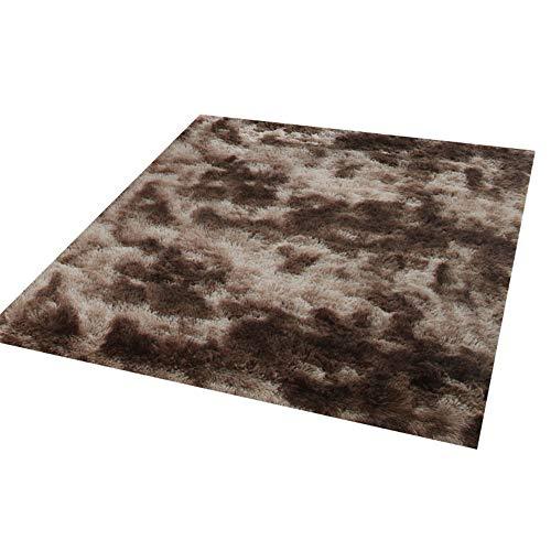 misshxh tapijt, eenvoudige stijl, antislip, waterdicht, zacht en wollig, geschikt voor woonkamer, slaapkamer, keuken, hal. 140x200cm