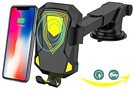 Tinduqin Wireless Car Charger Charger Phone Holder for Car IphoneX 8/8Plus Samsung Galaxy Series