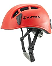 XINDA ヘルメット マウンテン キャップ ポルダー ライト 自転車 バイク スキー スノーボード ロック・クライミング スケートボード 防寒 防風 通気 安全対策 防具 防災 登山 乗馬 大人用 アップグレード XD-Q9650【収納袋付き】