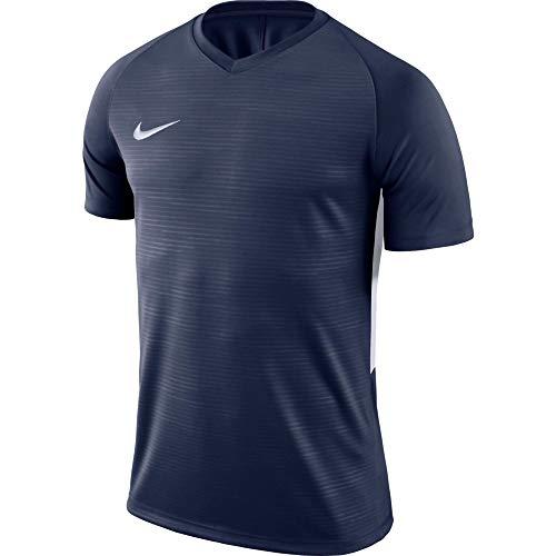 NIKE Tiempo Premier SS - T-shirt - Homme -Bleu (Bleu(navy)) - L