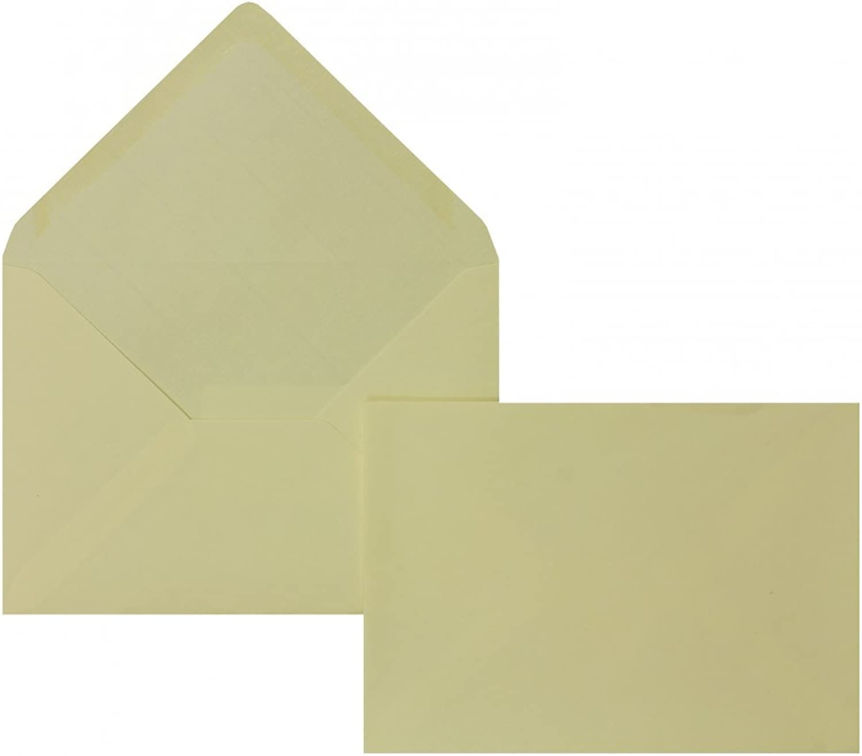 Farbige Briefhüllen   Premium Premium Premium   114 x 162 mm (DIN C6) Creme (100 Stück) Nassklebung   Briefhüllen, KuGrüns, CouGrüns, Umschläge mit 2 Jahren Zufriedenheitsgarantie B00FPO5DQW | Kostengünstig  c94148