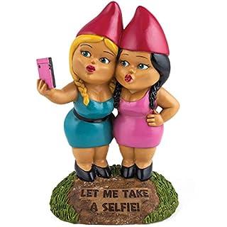 BigMouth Selfie Sisters Garden Gnomes