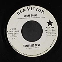 dangerous town 45 rpm single
