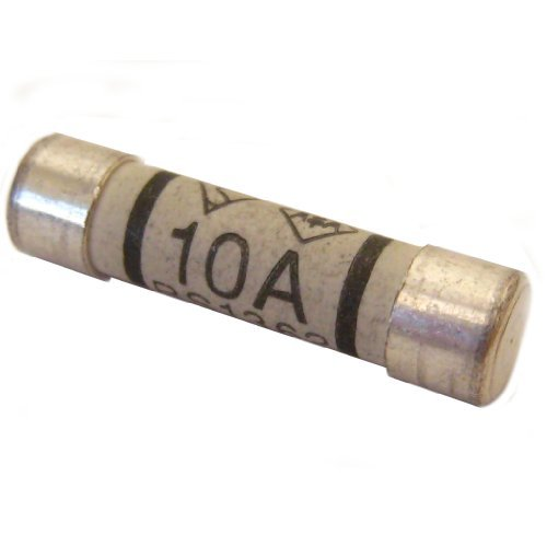All Trade Direct 25 X 10A Amp Domestic 240V Household Mains Plug Fuse Electrical Cartridge Fuses by All Trade Direct