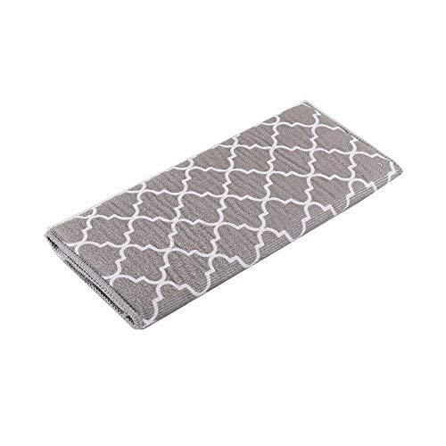 Jycra - Tapete escurreplatos de microfibra para la cocina, absorbente, alfombrilla para secado rápido para tazas, platos, sartenes y ollas, 30 x 40 cm