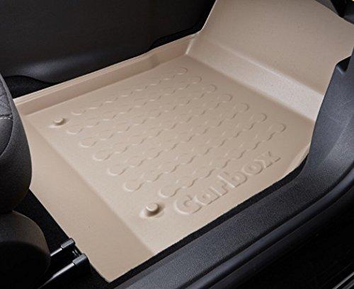 Fussraumschale Auto Gummimatten Fußmatten Beifahrerseite beige