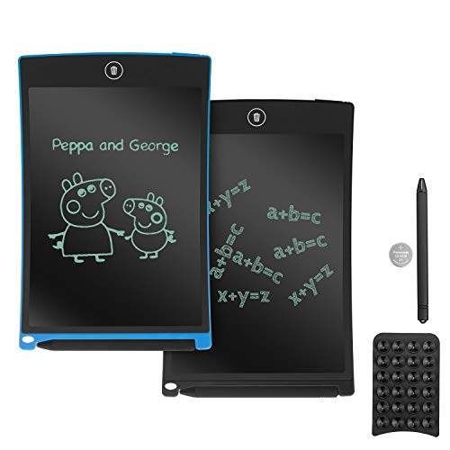 School and Office Yuybei LCD Tablet Cartoon Writing Tablet LCD Writing Board Childrens Intelligent Electronic Blackboard Suitable for Kids for Home Color : Blue, Size : 10.5 inches