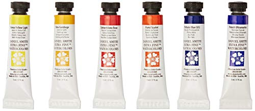 DANIEL SMITH 285610005 Extra Fine Essentials Introductory Watercolor