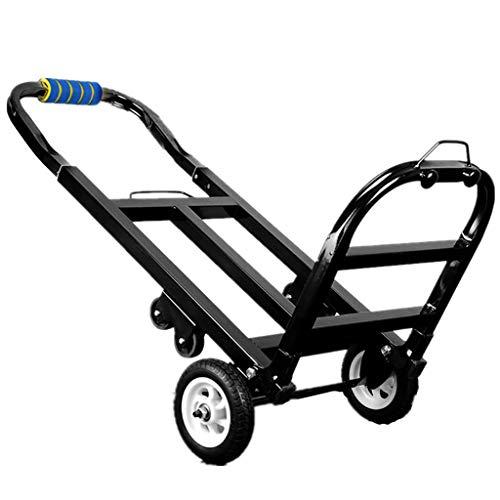 AHXF Einkaufstrolley XL Damen Herren Tasche Einkaufsroller Korb Handgep?ck Flugreise Bahnreise Sauna - 40 Liter Big Wheel - Farbauswahl 96 * 28cm 3,7 Kg (Color : Black-1)
