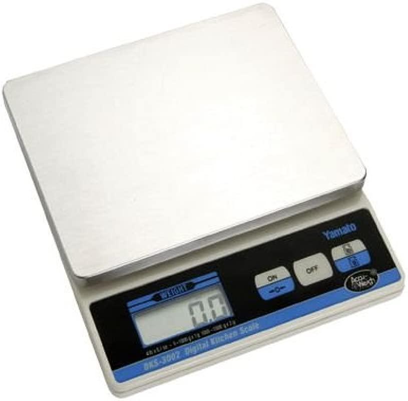 Yamato DKS 3002 Accu Weigh 4 Pound Digital Kitchen Scale