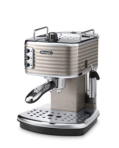 De'Longhi Scultura ECZ351BG Traditional Pump Espresso Machine - Champagne