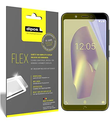 dipos I 3X Schutzfolie 100prozent kompatibel mit BQ Aquaris C Folie (Vollständige Bildschirmabdeckung) Bildschirmschutzfolie