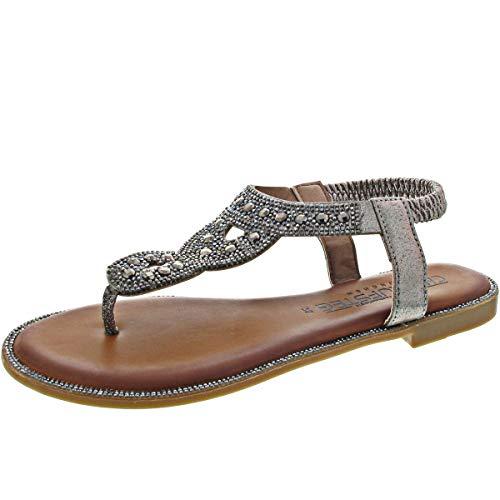 Laufsteg (Sandale grau / 42)