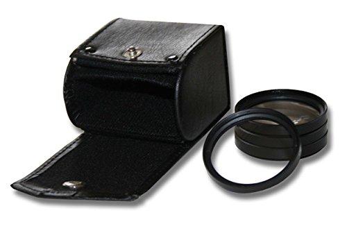 vhbw Nah-Linsen Makrofilter Set 67mm passend für Kamera Panasonic Lumix G Vario 100-300 mm 4-5.6 Mega OIS, Pentax smc DA 16-45 mm 4.0 ED AL.