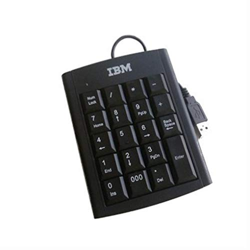 Diamoen USB Wired Numeric Keypad Digital Keyboard Laptop Number Pad 19 19 Keys Low Noise Laptop Notebook Slim Number Pad