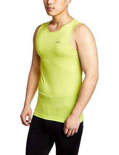 Odlo SUW TOP Crew neck Singlet PERFORMANCE X-LIGHT Shirt, Lime Punch, XL
