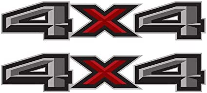 4x4 truck stickers _image2