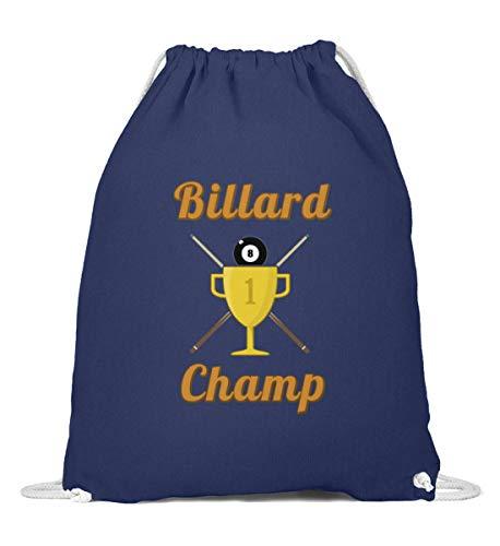 Pool Billard Champion Turnbeutel | Sieger Wettbewerb Turnier Cool Gymsac