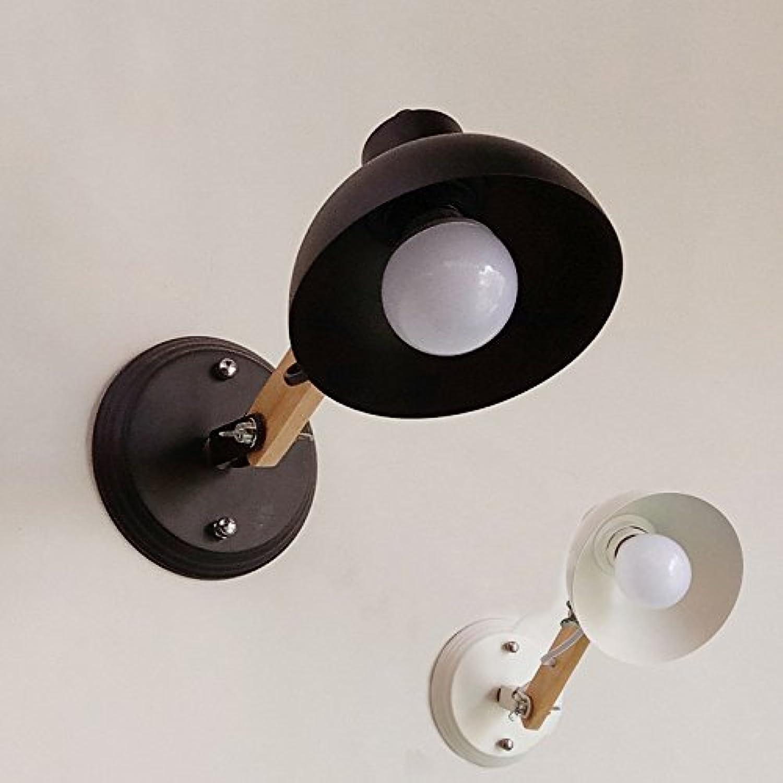 FDH Die Nordischen kreative Wohnzimmer Wand Lampen-LED modernen minimalistischen Cafe und Bar gang Licht, 135 mm, schwarz