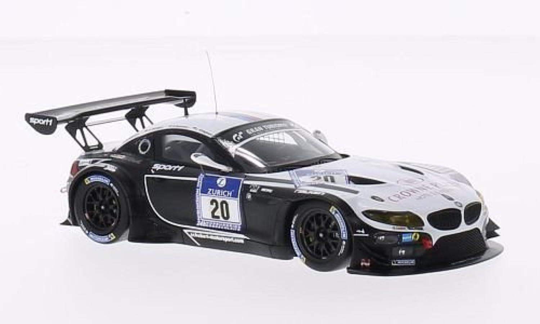 BMW Z4 GT3, No.20, Sports Trophy Team Schubert, 24h Nürburgring, 2014, Modellauto, Fertigmodell, Minichamps 1 43