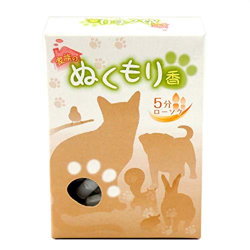 ペット 仏壇用 ろうそく 5分間 ミニ ローソク 家族のぬくもり香 カラフル 6色芯 可愛い